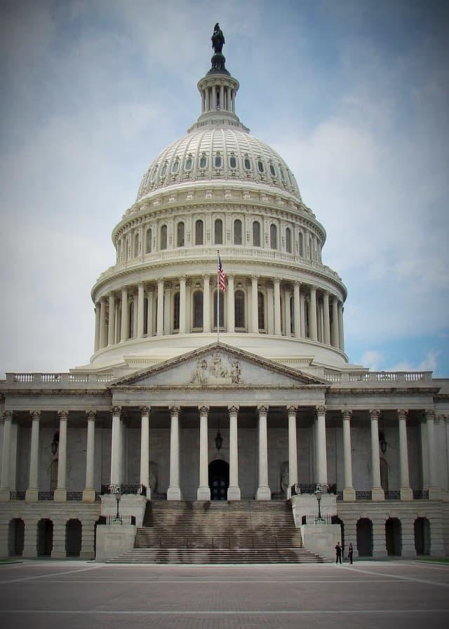 The U.S Capitol building in Washington D.C