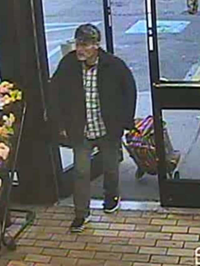 Man suspected of stealing merchandise from 7-Eleven (1999 New York Avenue in Huntington Station) on Thursday, April 18 around 7:30 p.m.