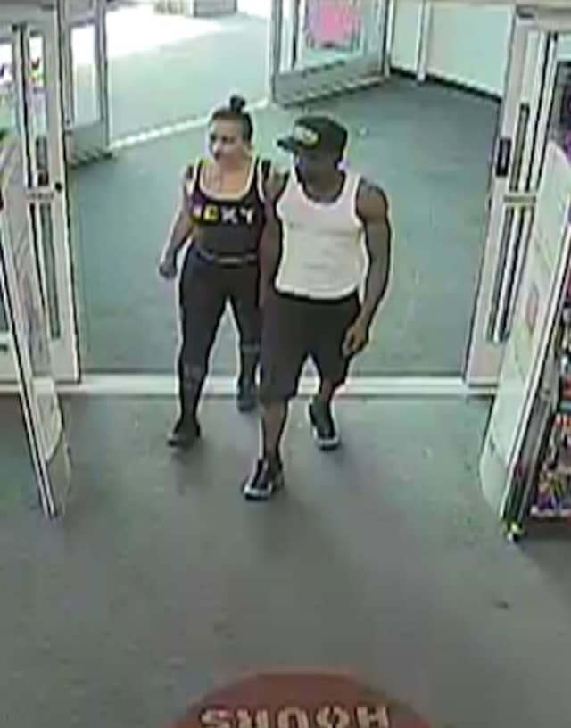 Police are asking the public's help to identify and locate two people who allegedly stole thousands of dollars worth of merchandise from CVS in East Islip.