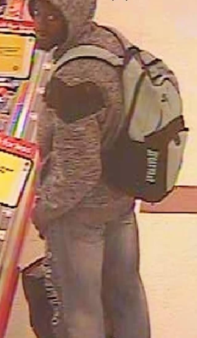 Police in Suffolk County are attempting to locate a man who stole from Stop & Shop.