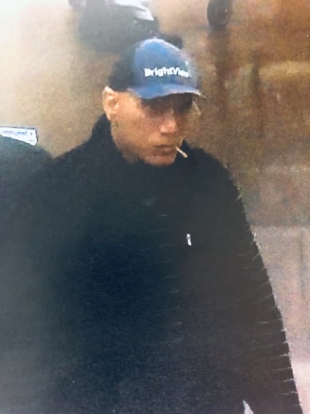 Suffolk County Crime Stoppers and Suffolk County Police Fourth Precinct Crime Section officers are seeking the public's help to identify and locate a man who stole from a Commack store in December.