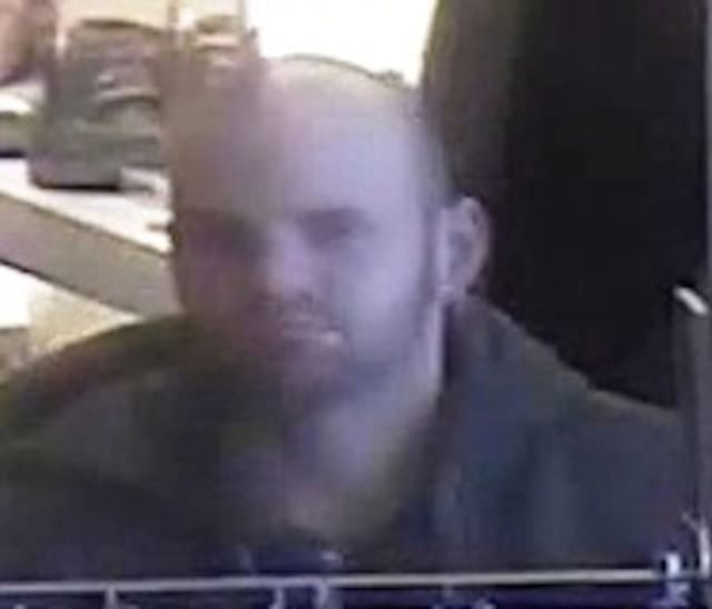 Suffolk County Police are asking for help finding this man they say stole merchandise from a Bay Shore Macy's store in January.