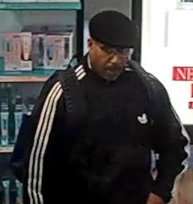 A man is wanted for allegedly stealing perfume from a store at the Smith Haven Mall, according to Suffolk County Police.