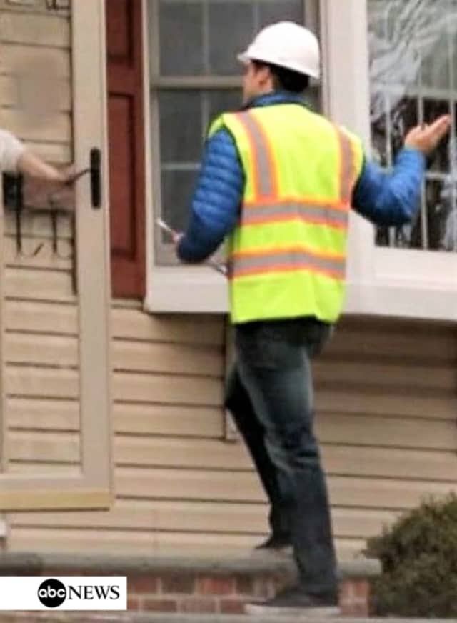 Make sure you ask for identification before you let anyone in your home -- even if they're dressed in a utility worker's uniform, Glen Rock Police Chief Dean Ackermann said.