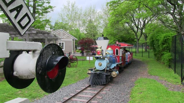 Van Saun County Park was recognized for its state-of-the-art playground, but the train is one of the park's other attractions.