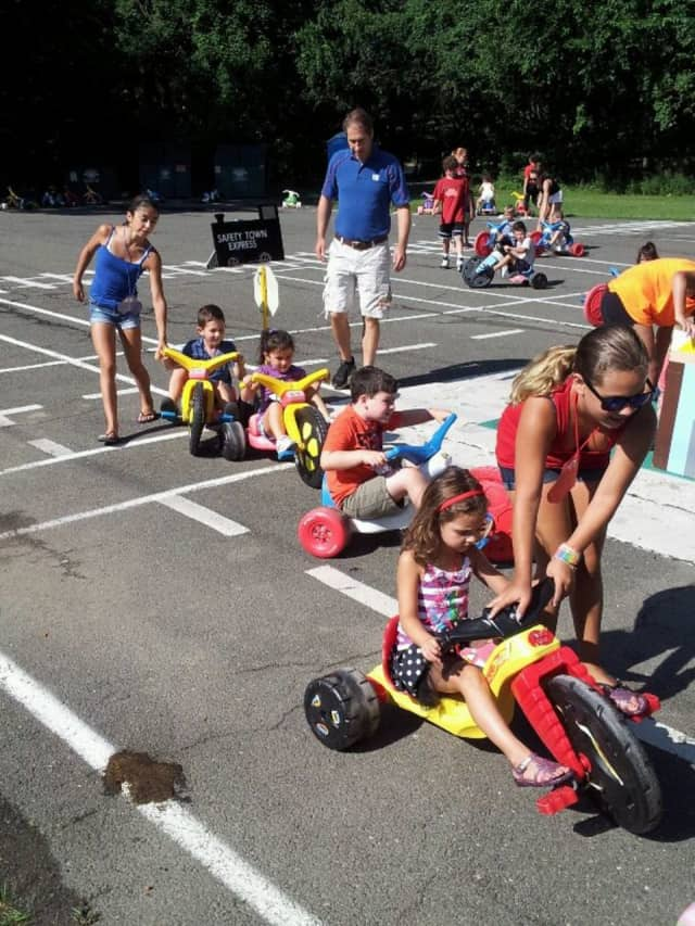 "Incoming kindergartners will have a chance to participate in a variety of activities at ""Safety Town."""