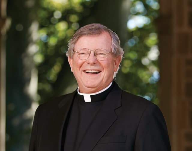 The Rev. Jeffrey von Arx will be leaving his position as president of Fairfield University.