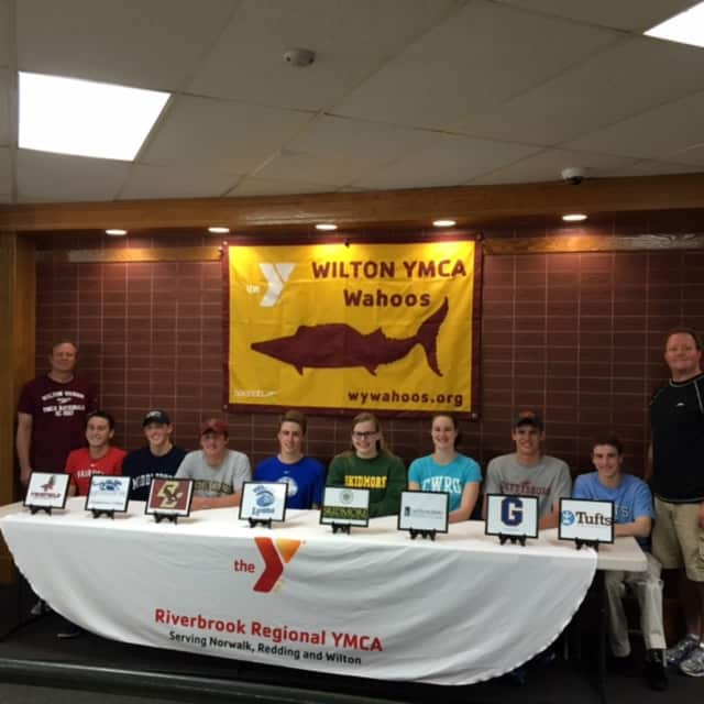 Wilton YMCA Wahoo's graduating seniors reveal their college choices.