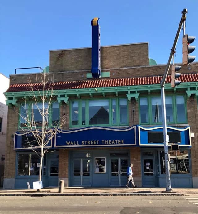 The Wall Street Theater in Norwalk will celebrate the lighting of its marquee on Friday evening.