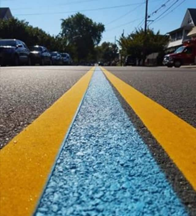 Wallington's thin blue line.