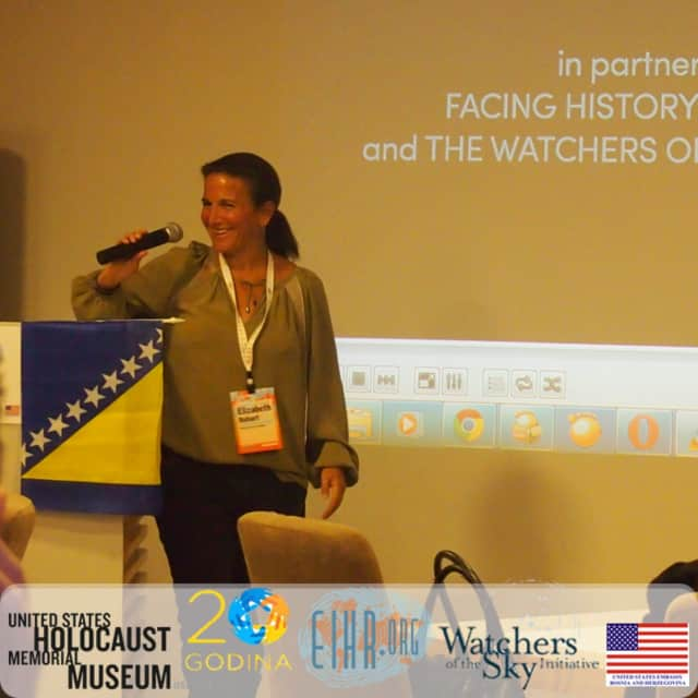 """Execlutive producer Elizabeth Bohart of """"Watchers of the Sky"""" will discuss the film at The Picture House."""