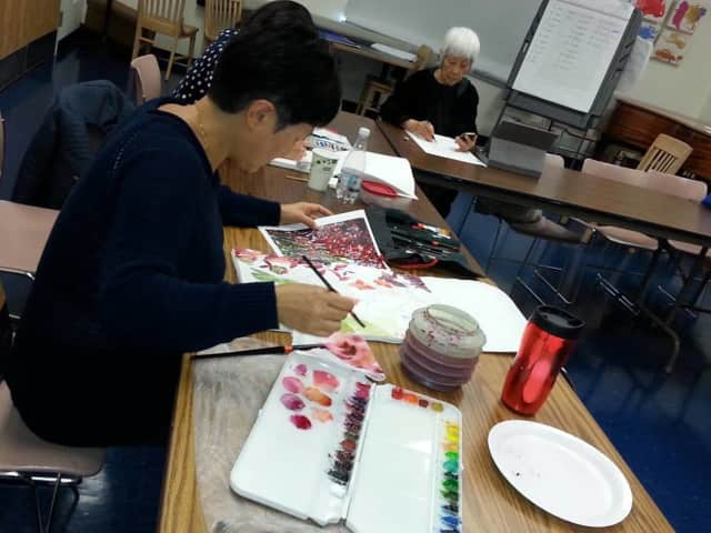 Watercolor classes are on offer in April at the Cliffside library.