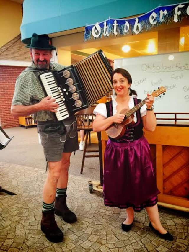 German music will be the backdrop at the Dumont Knight's Oktoberfest.