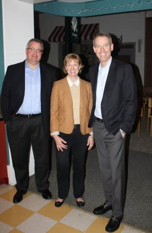 Richard Bierman, Tiffany Begoon and Doug Gillespie are new members of the Board of Directors at the Waveny LifeCare Network in New Canaan.