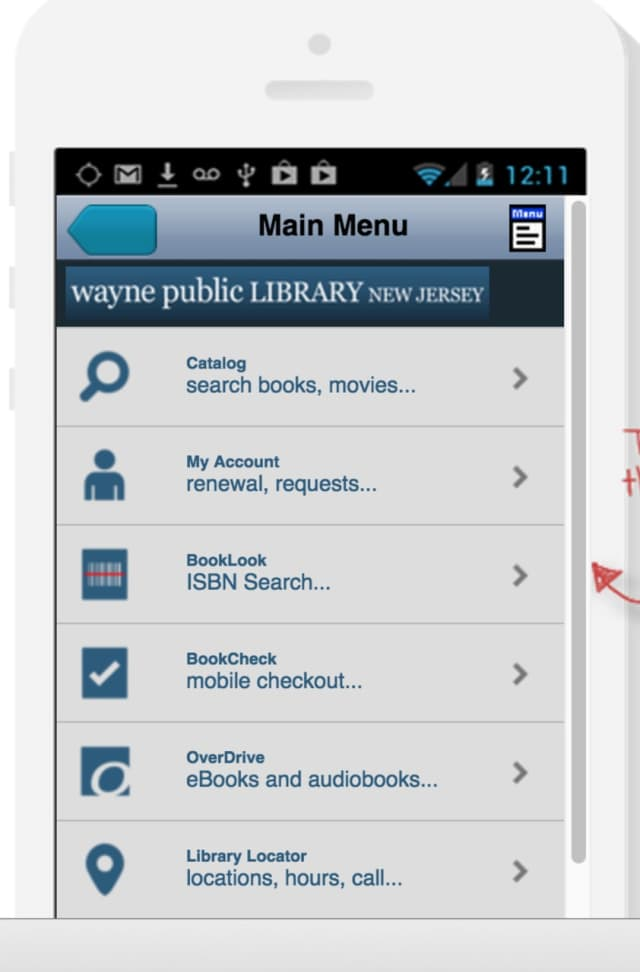 Need a Wayne Library book? There's an app for that.