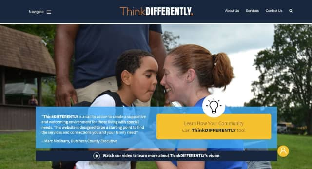 The new ThinkDifferently website.