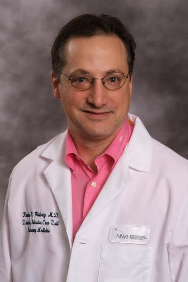Harlan Weinberg, MD, is a pulmonary disease specialist at Northern Westchester Hospital.