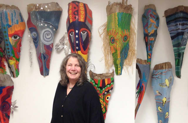 """Wendy Isler Alvarez will be among the artists featured in """"Her Nature,"""" an art exhibit at the Ossining Public Library in honor of Women's History Month."""