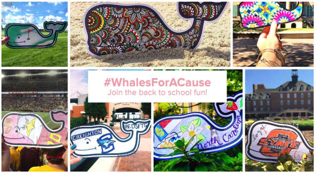 Vineyard Vines will benefit the Maritime Aquarium at Norwalk with their #WhalesForACause campaign.