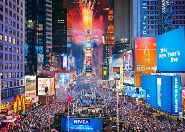More than a million people are expected to frequent Times Square at this year's New Year's Eve celebration.