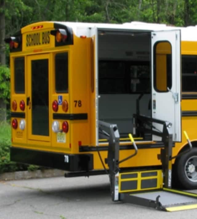 Under the bill, students using wheelchairs must be secured using the four-point securement system whenever the bus is in operation.