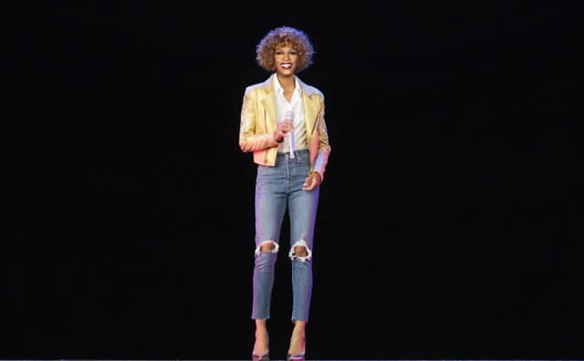 The three-dimensional laser version of Whitney will dance with some bodies.