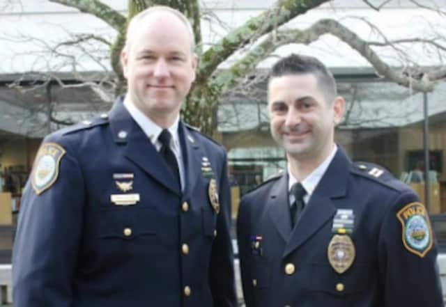 Lt. Gregg Phillipson and Captain Rob Cipolla