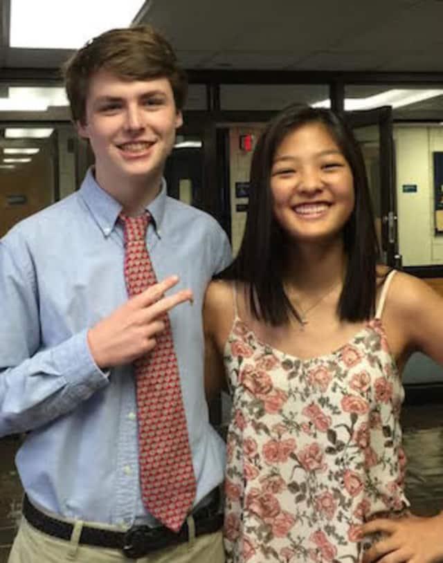 Wilton High seniors Rachel S. Pak and Derek A. Thomas are National Merit finalists.