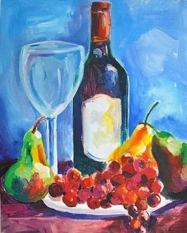 There will be a multifaceted fundraiser for the Oakland Library on May 19: wine, dinner and painting.