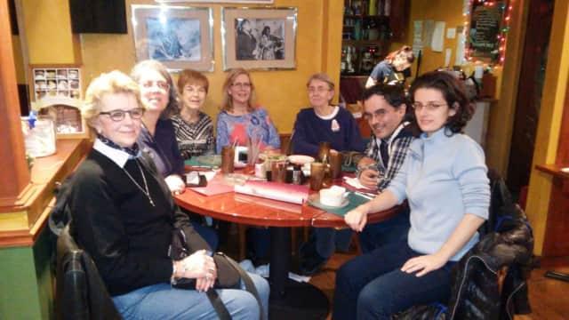 The winter group at Leonia Methodist Church.