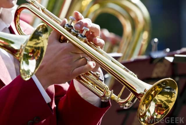 A Clifton boy is on a search for his lost trumpet.