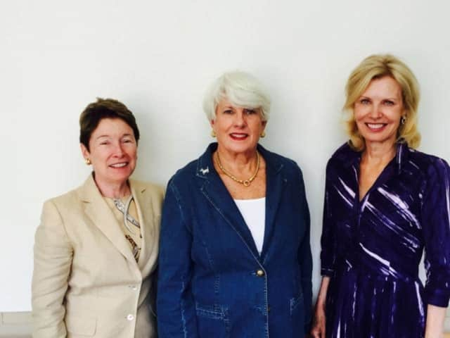 The co-chairs of this year's Friends of Nathaniel Witherell Fall Luncheon, set for Thursday in Greenwich, are, from left, Debby Lash, Karen Sadik-Khan and Lindsay Ormsby.