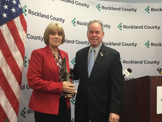 Rockland County Executive Ed Day marked the start of Women's History month and his new Women's Initiative today by naming Senior Chief Mary E. Cavanagh the Rockland Female Veteran of the Year