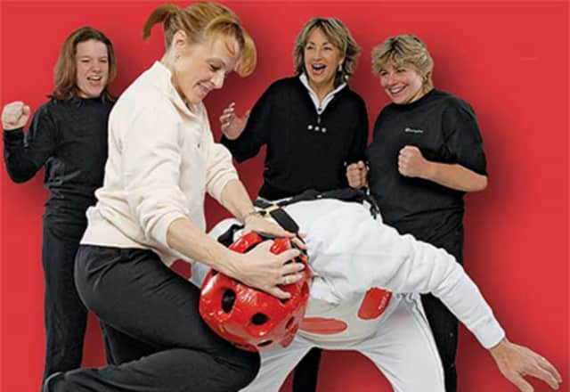 Learn self-defense techniques at a Workout Place workshop.