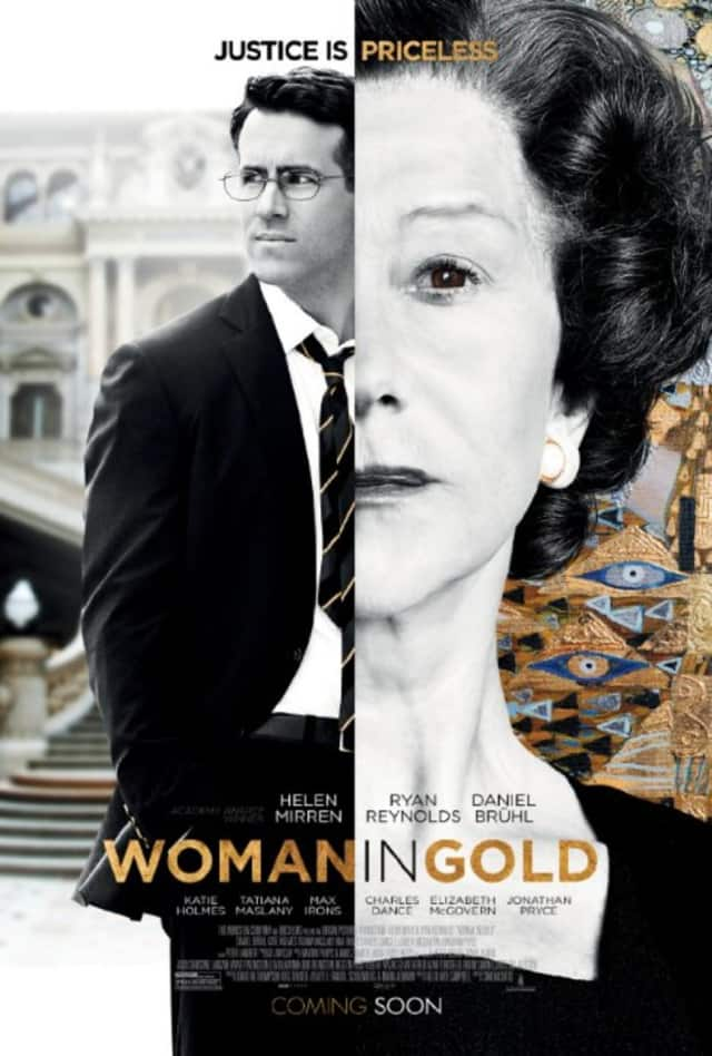"""""""Woman in Gold"""" is the true story of the attempt to reclaim a portrait stolen by the Nazis."""