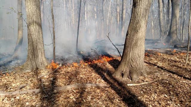 Weather conditions on Thursday could create a bigger risk for the spread of brush fires in Fairfield County
