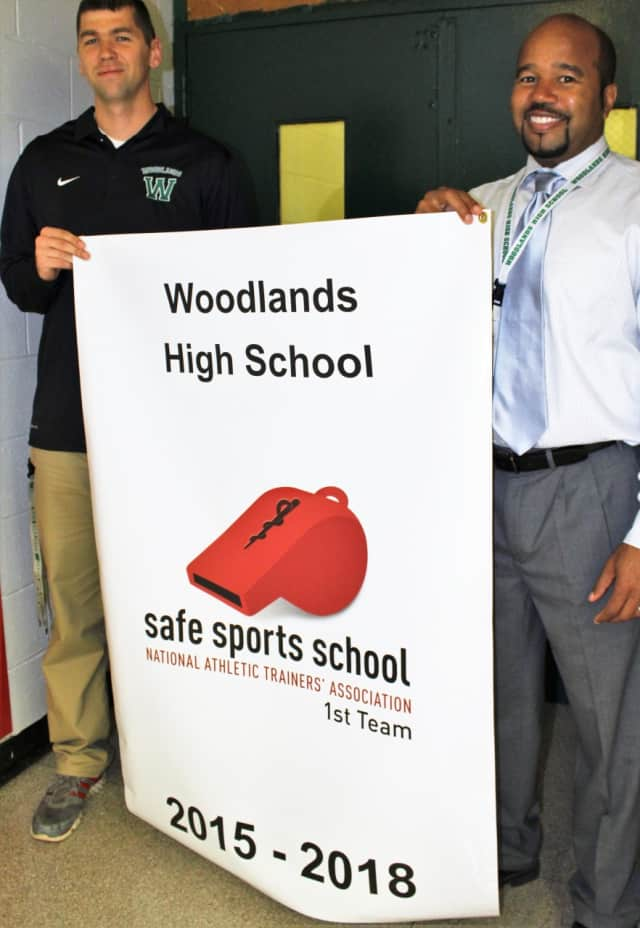 Woodlands High School was recently honored with a Safe Sports School designation by the National Athletic Trainers Association.