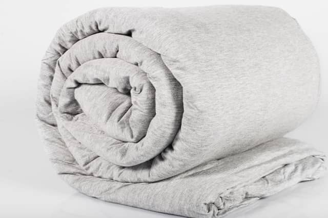 The Hush Iced from Hush Blankets is designed to offer you a restful, cool sleep despite the heat of summer. Photographs courtesy Hush Blankets.