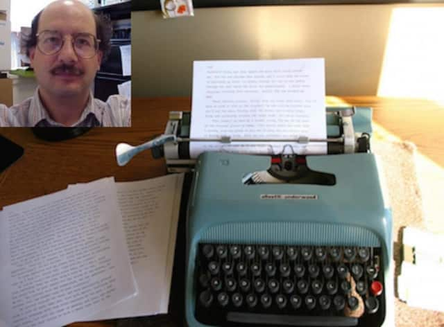 UConn-Stamford professor Dave D'Alessio is taking the NaNoWriMo challenge this November, trying to complete a 50,000-word novel in one month.