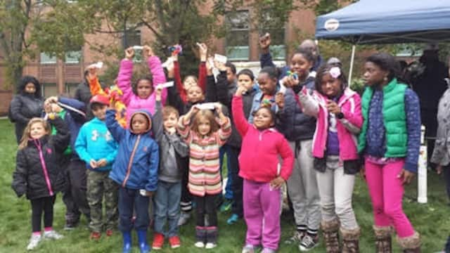 The group at the fall festival.