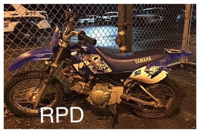 Ramapo police say they recovered a mini-bike that had been stolen in Clarkstown after pulling over a 27-year-old man and his 20-year-old passenger in a traffic stop Thursday.
