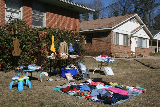 Turn your trash to treasure at the annual town- wide garage sale.