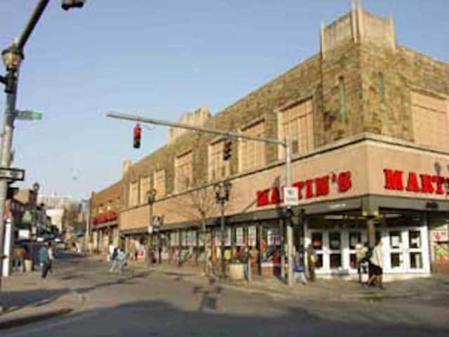 A fire started under an air conditioner at C.H. Martin in Yonkers.