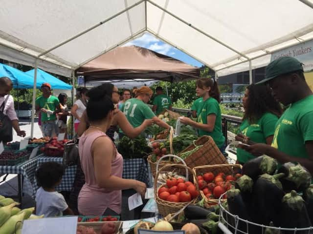 The Yonkers farmers market will open Friday.