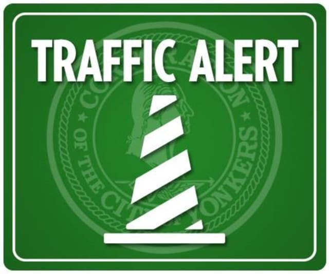 Yonkers motorists should be aware of lane closures in the area of Kimball Avenue and the Sprain Brook Parkway, and DeWitt Avenue and the Sprain, between 9:30 a.m. and 3:30 p.m. Friday.