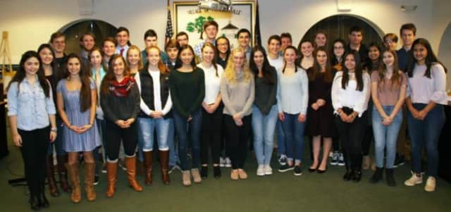 Pleasantville students were honored at Youth Recognition Night.