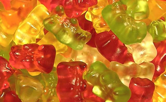 "THC-infused ""Killer GummyYummy"" and ""Jolly Rancher Cannabis Herb"" drops were found, the police director said."