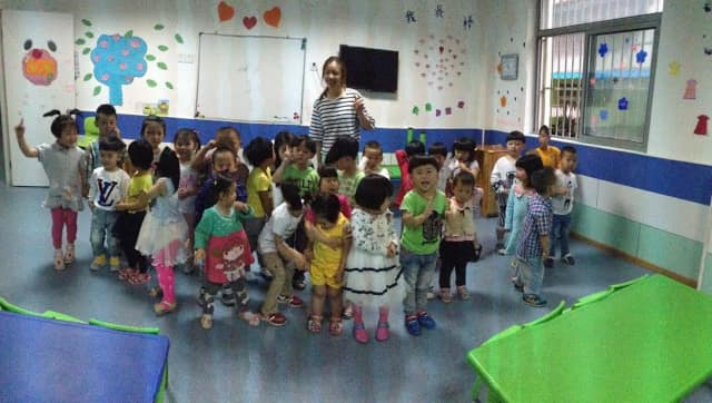 Jennifer Zheng of Stamford found a passion for helping children when she visited an orphanage in China.