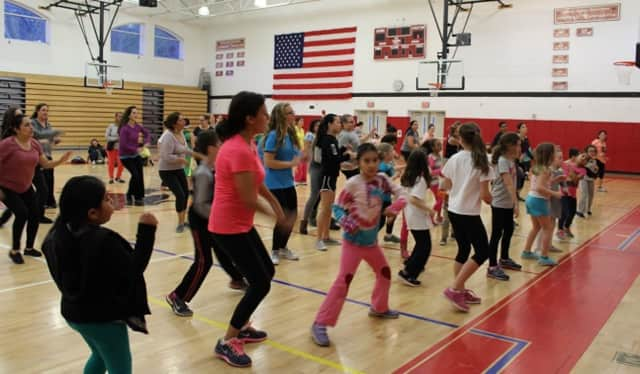 A Zumbathon at Sleepy Hollow High School capped a health awareness week at Tarrytown Schools.