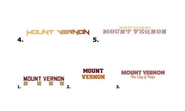 "The winning submissions of Mount Vernon Mayor Richard Thomas' ""Snapchat Geo-tag Challenge."""